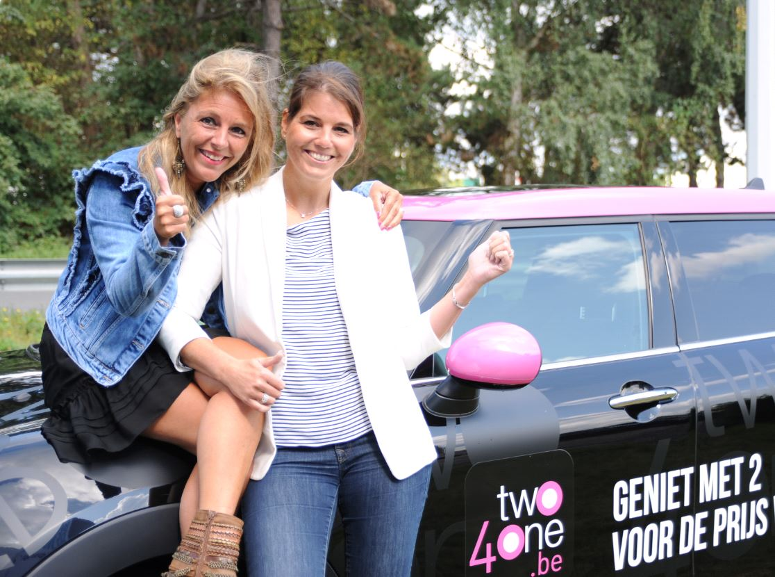 Christel en Ineke van Two4One